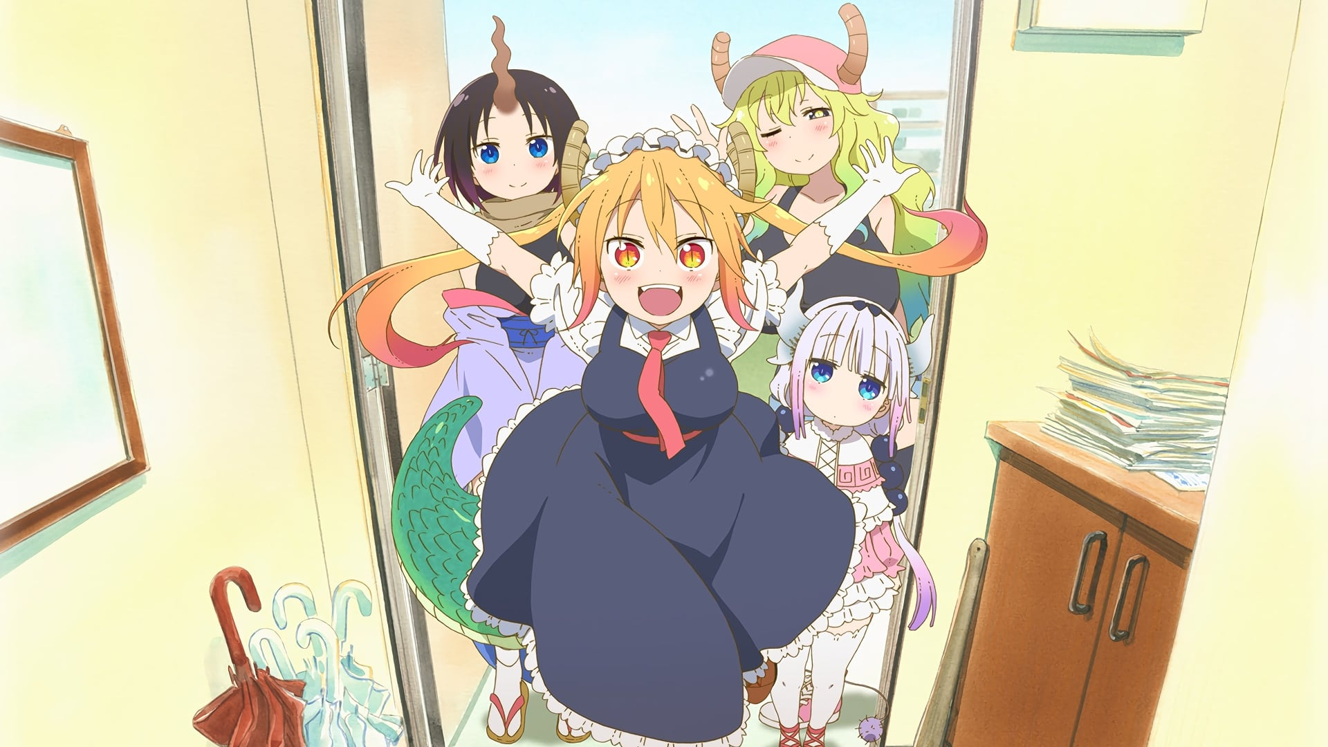Assistir Kobayashi-san Chi no Maid Dragon