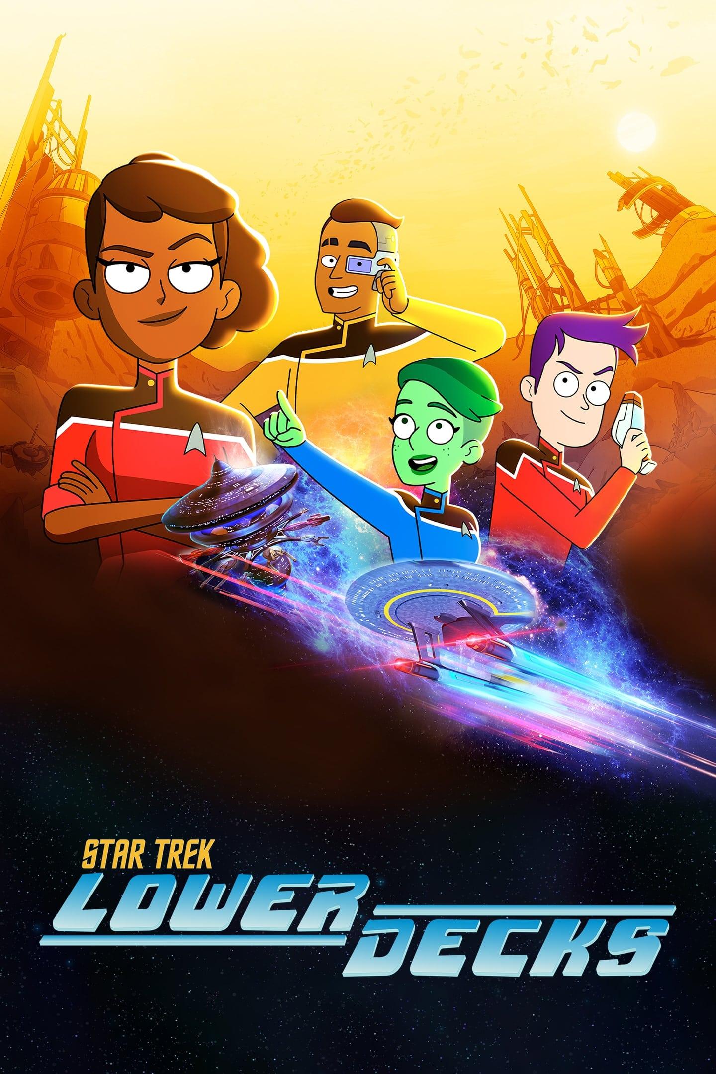 Star Trek: Lower Decks TV Shows About Alien Planet