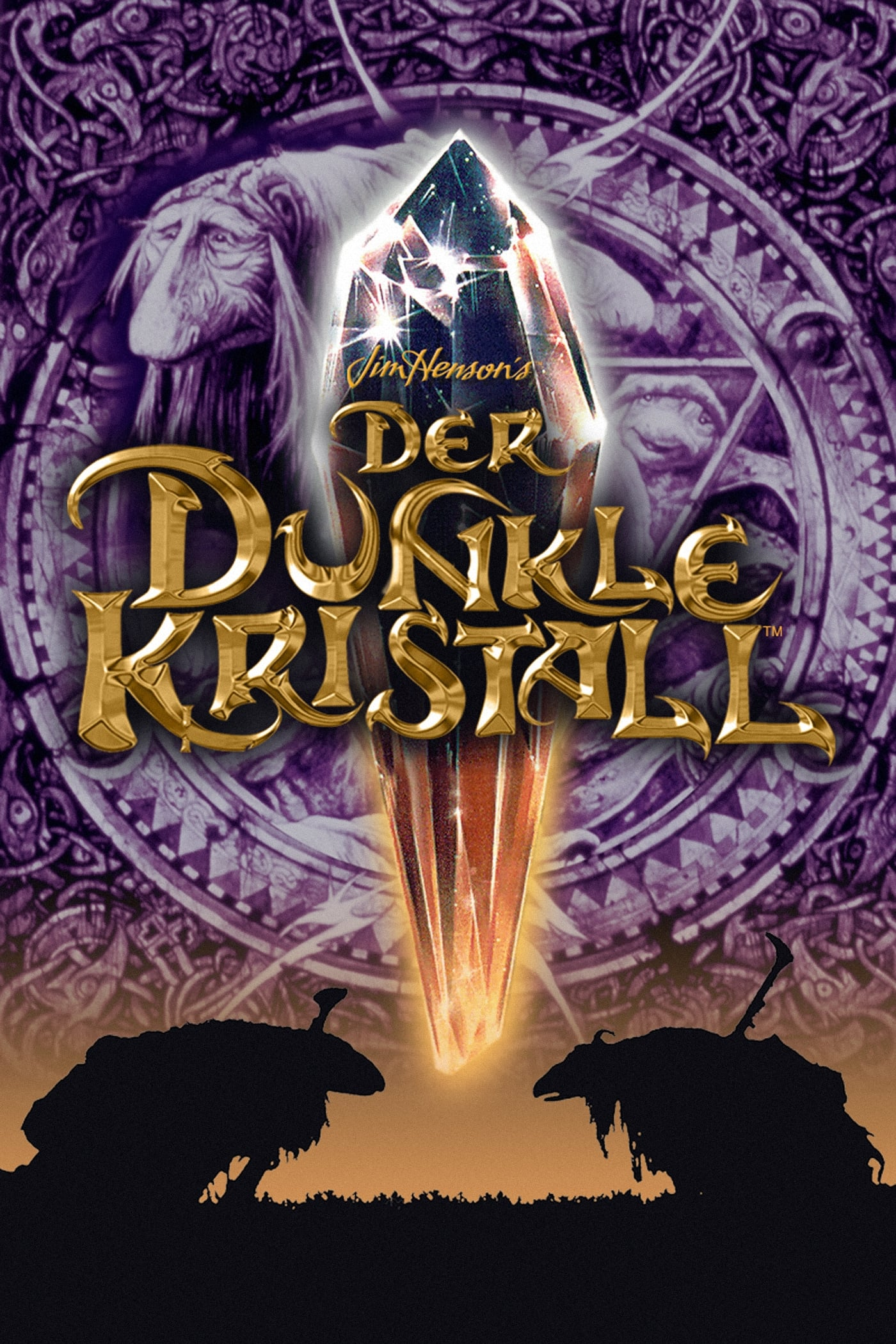 Dunkle Kristall