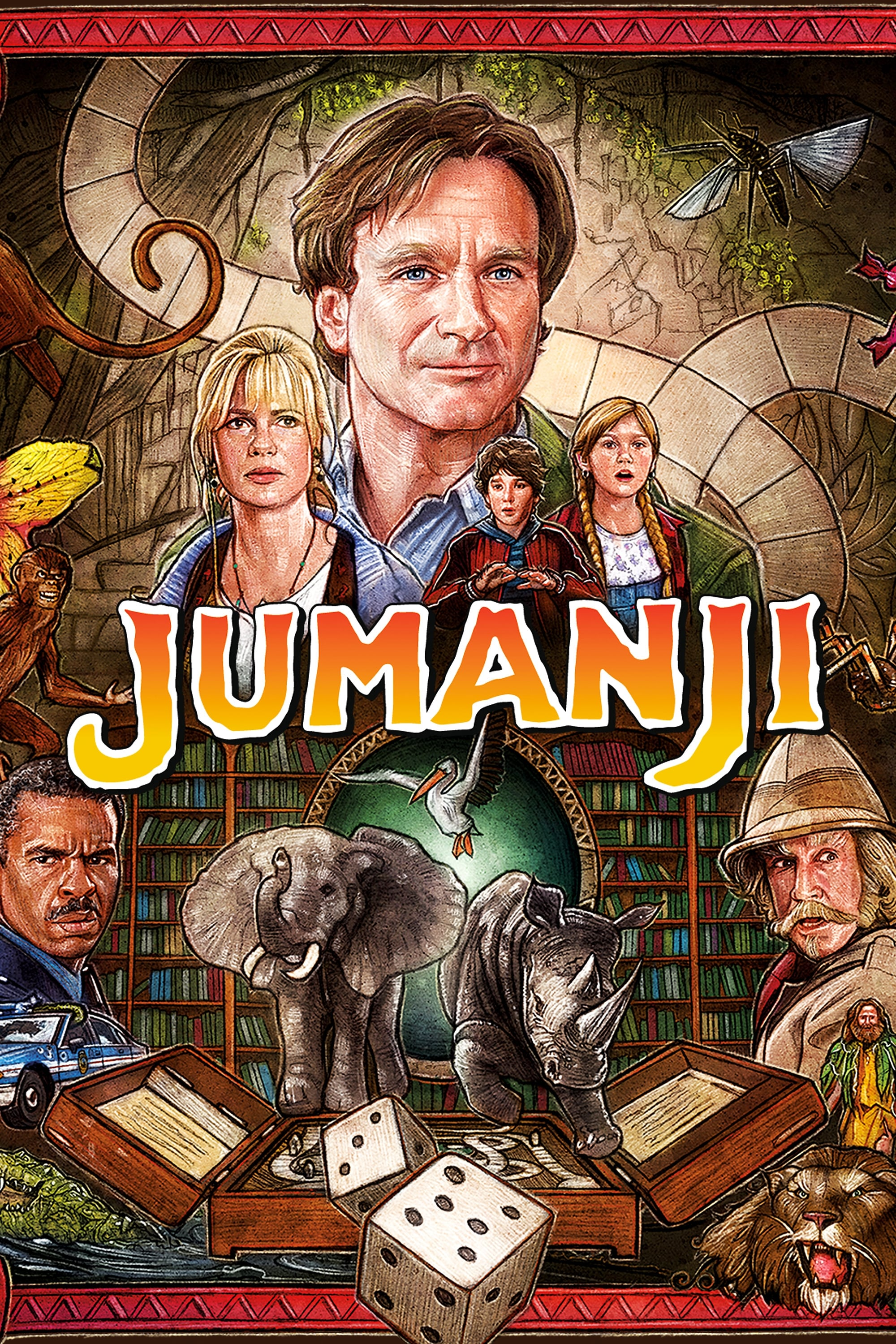 Jumanji 1995 Deutsch