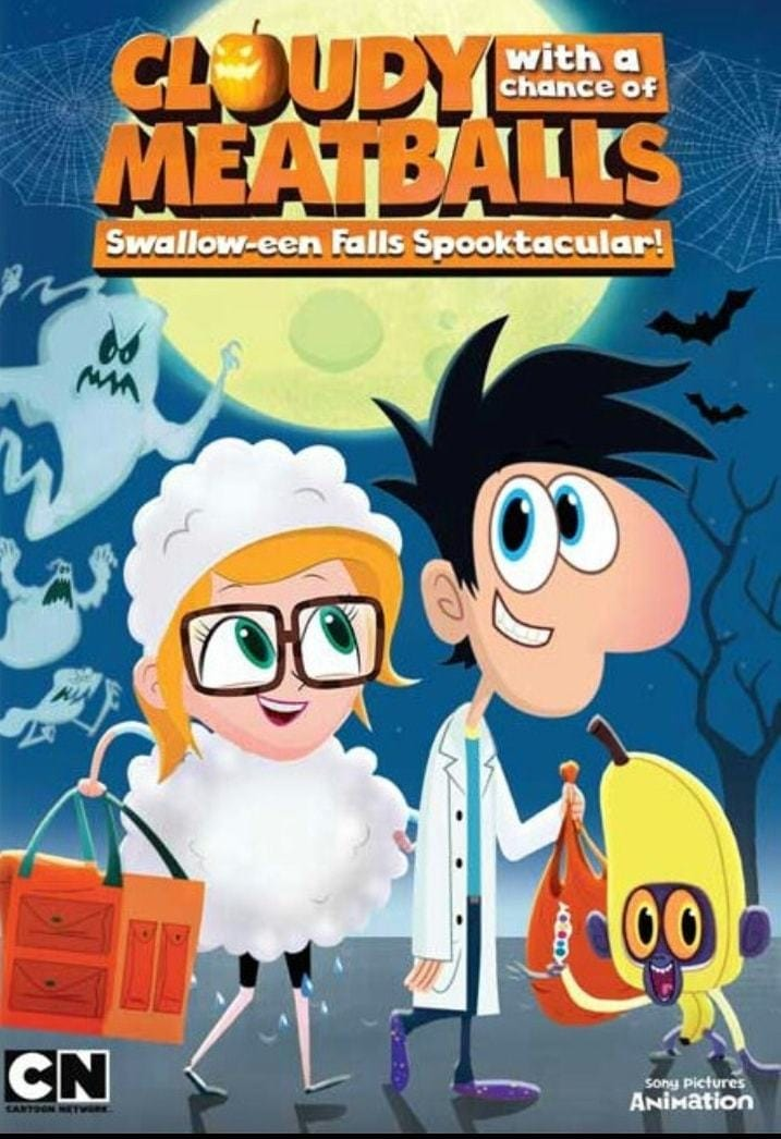 Ver Cloudy with a Chance of Meatballs: Swallow-een Falls Spooktacular! Online HD Español ()