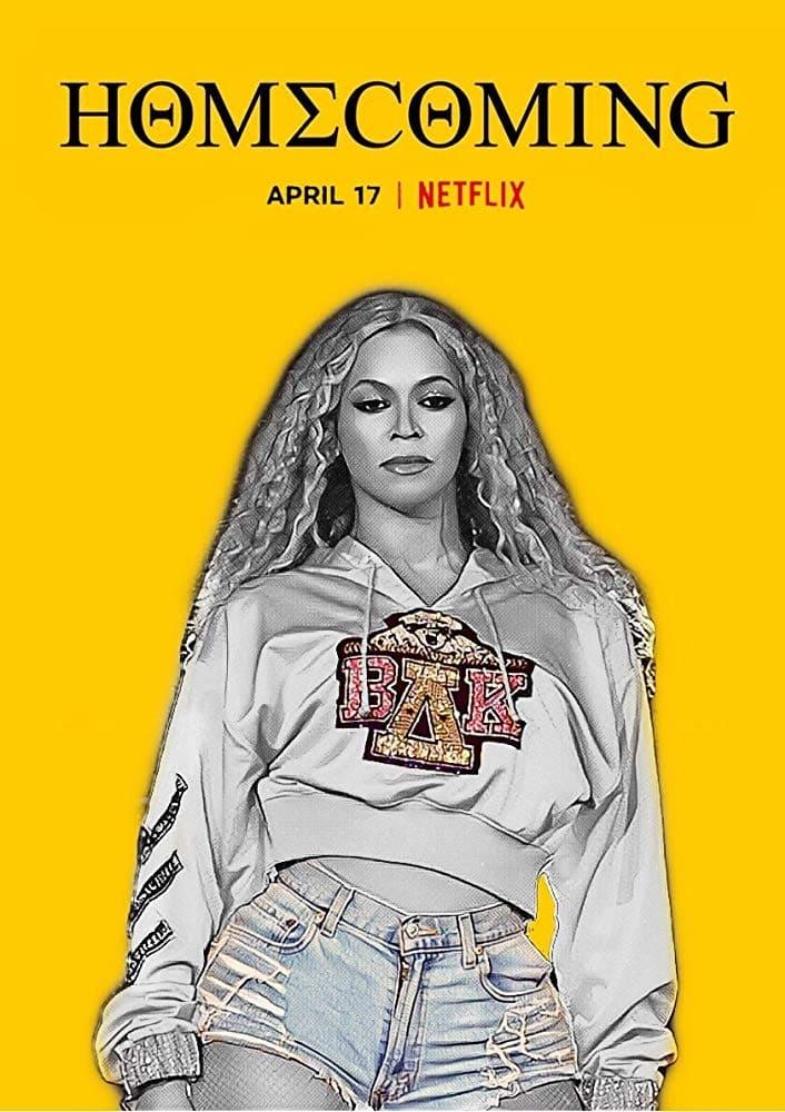 Homecoming: A Film by Beyoncé poster, capa, cartaz