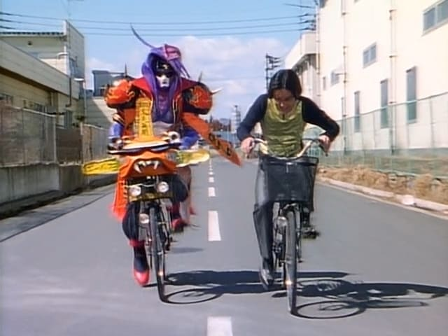 Super Sentai Season 20 :Episode 10  The Great Reversal!! Bicycle Training