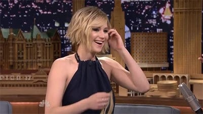 The Tonight Show Starring Jimmy Fallon Season 1 :Episode 59  Jennifer Lawrence, Craig Robinson, a performance by the Broadway cast of 'A Gentleman's Guide To Love and Murder'
