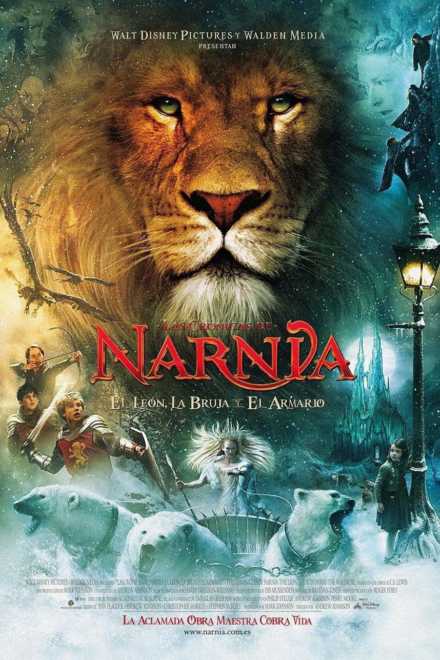 Póster Las cr�nicas de Narnia: El le�n, la bruja y el armario