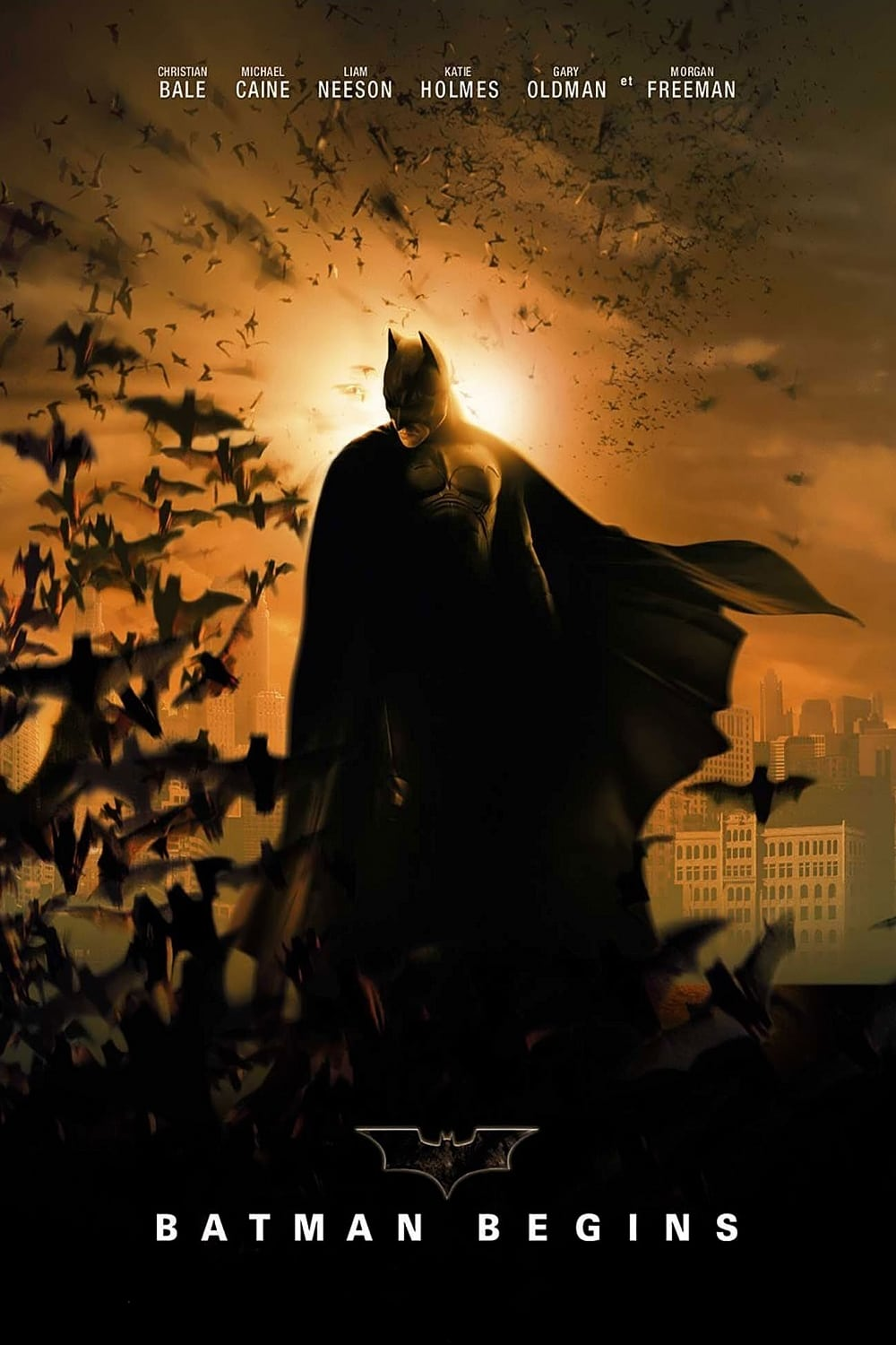 Poster and image movie Film Batman - inceputuri - Batman începuturi - Batman Begins - Batman Begins -  2005