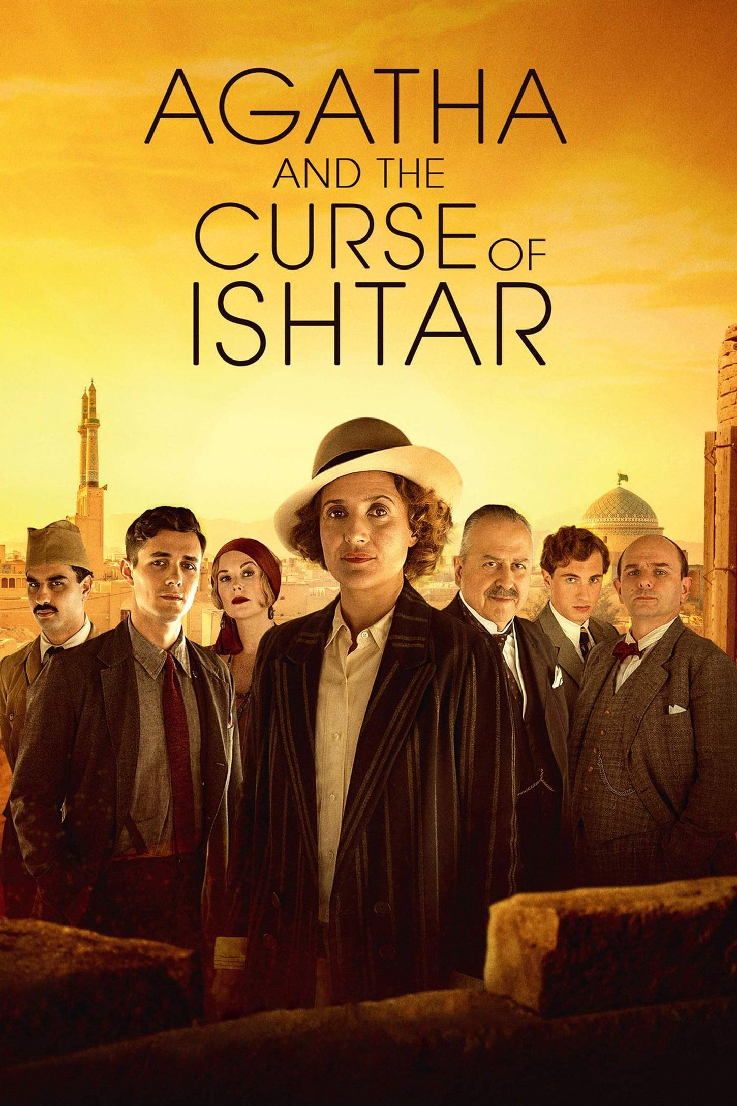 capa Agatha e a Maldição de Ishtar
