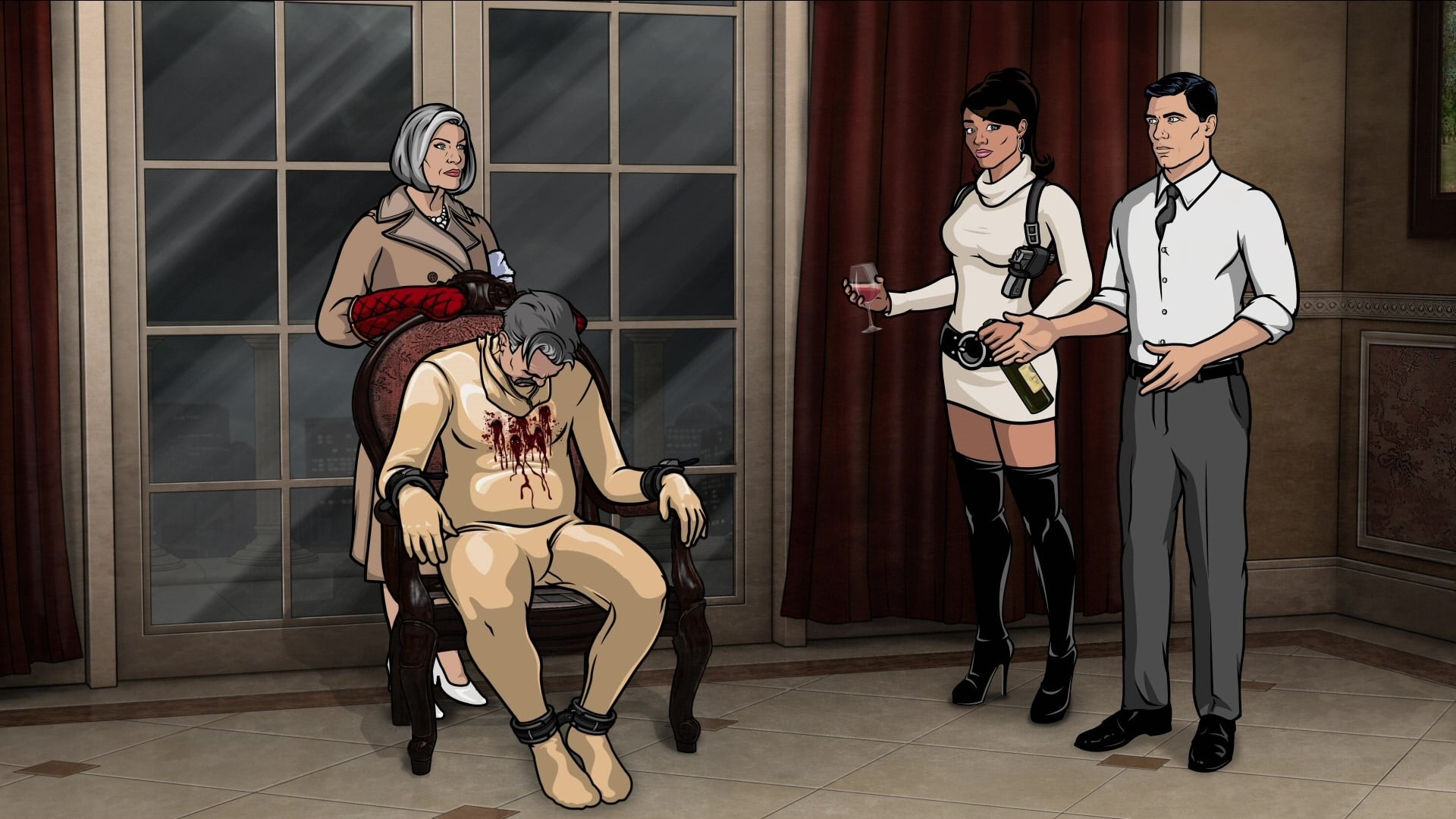 Archer Season 3 :Episode 5  Lo Scandalo