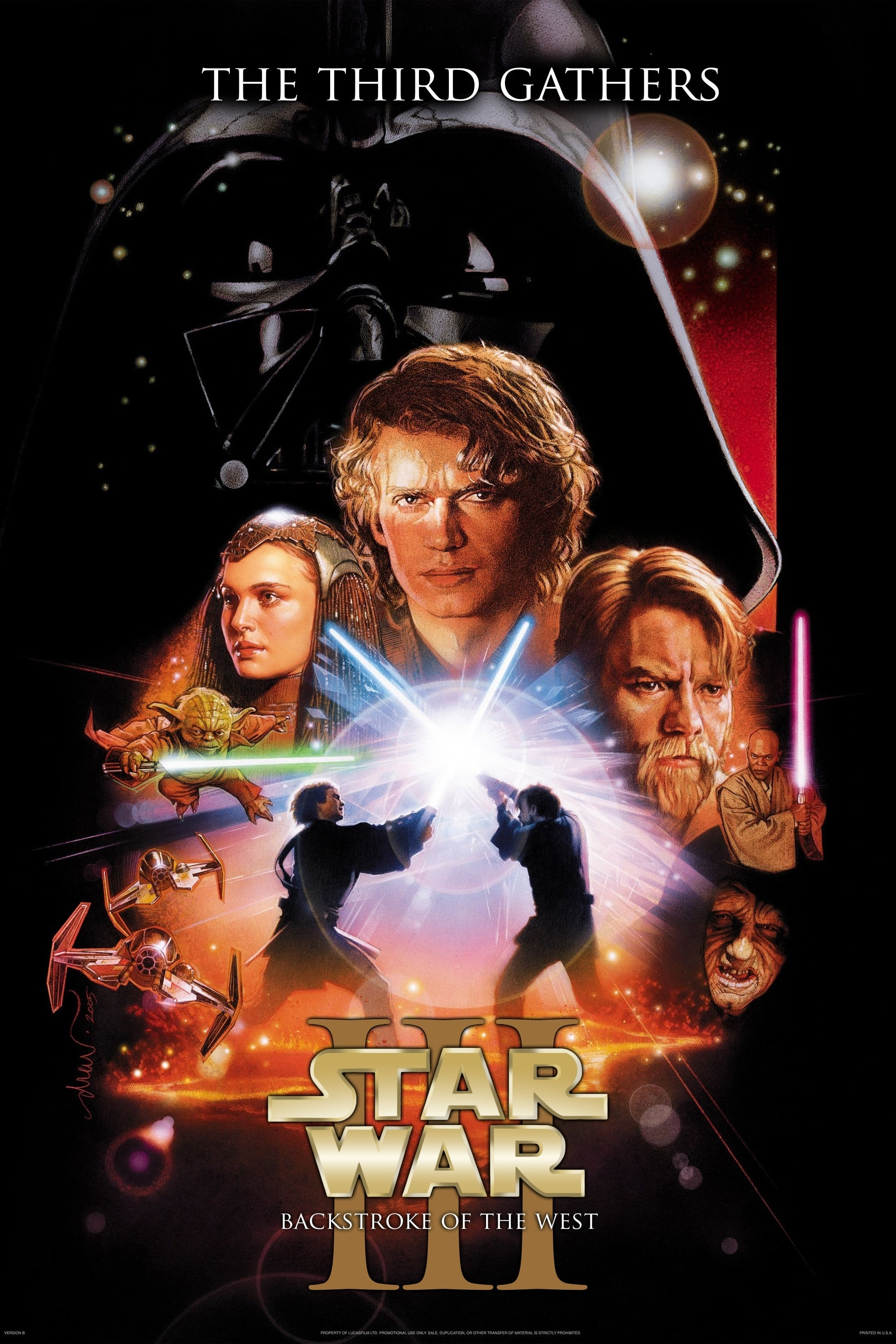 Star War The Third Gathers: Backstroke of the West (2016)