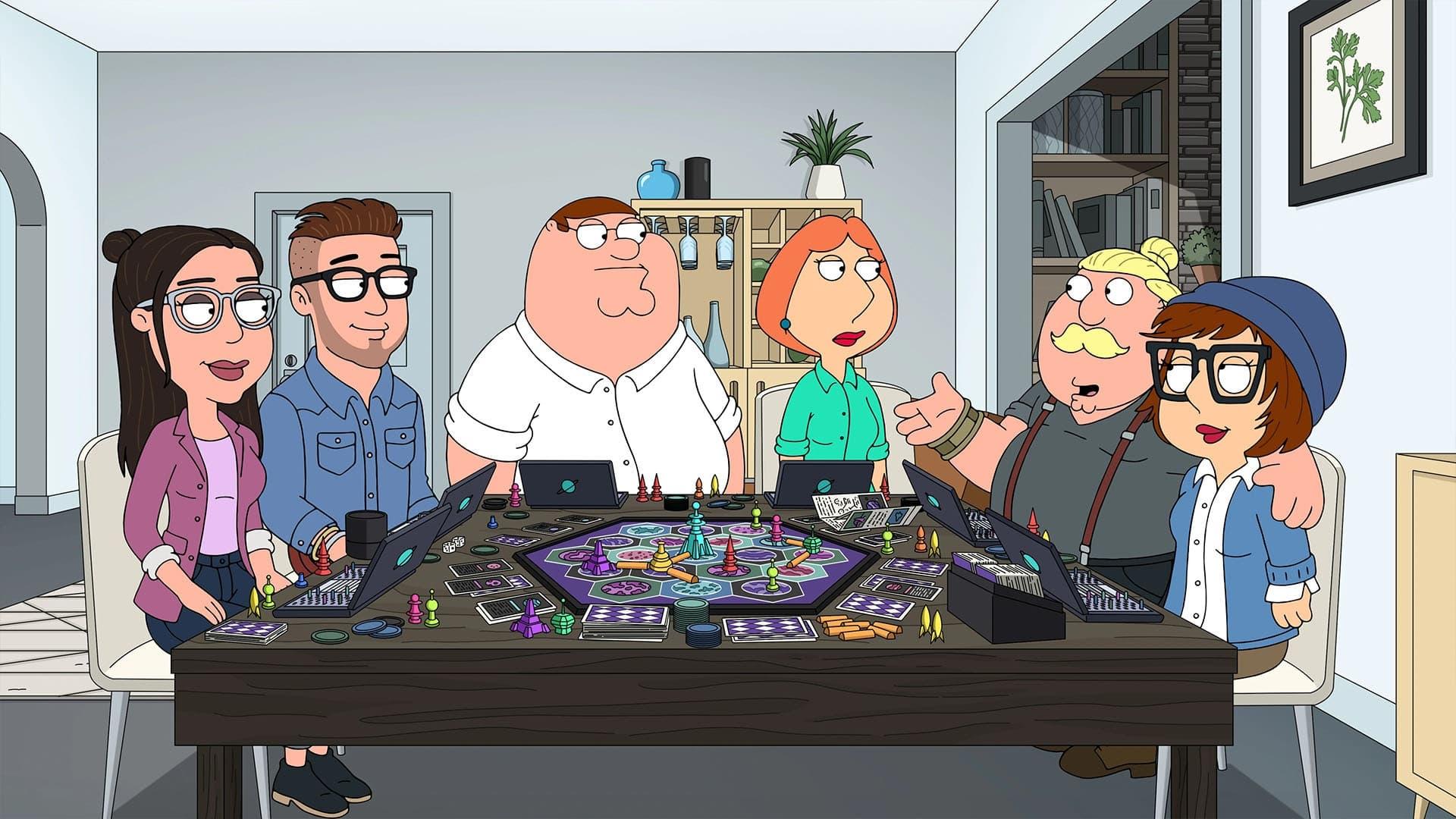 Family Guy Season 19 :Episode 17  Young Parent Trap