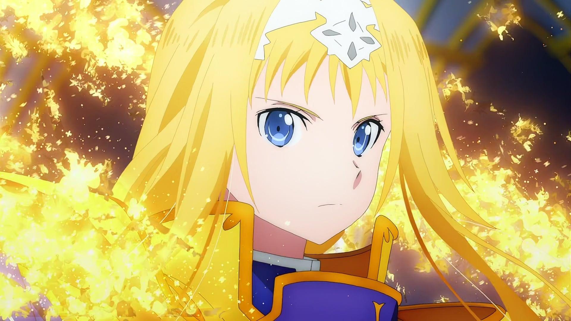 Sword Art Online Season 3 :Episode 16  The Osmanthus Knight