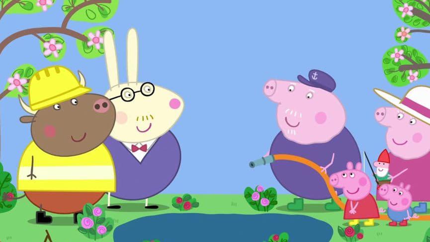 Peppa Pig Season 5 :Episode 34  Grandpa Pig's Pond