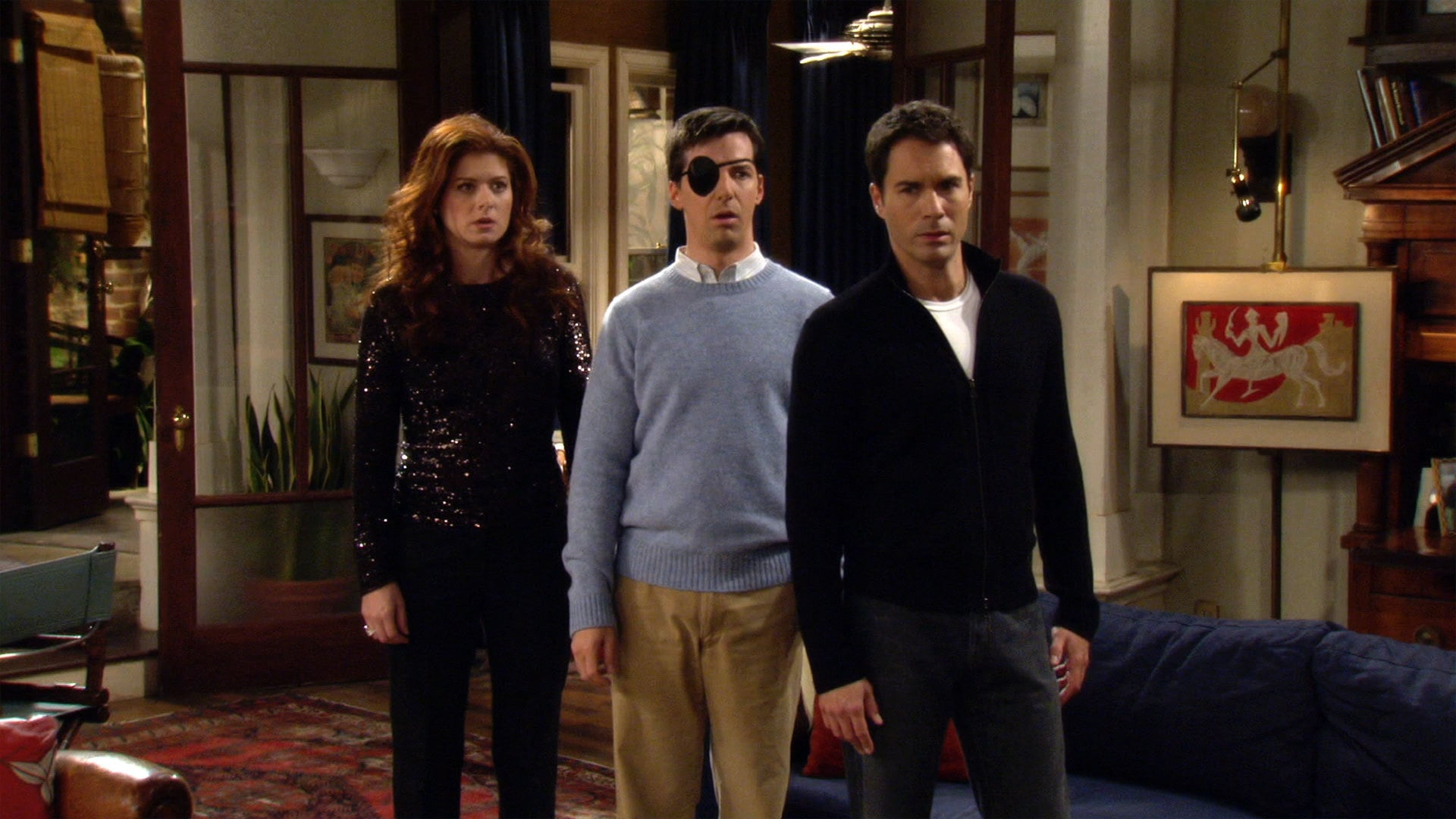 Will & Grace Season 8 :Episode 1  Alive and Schticking