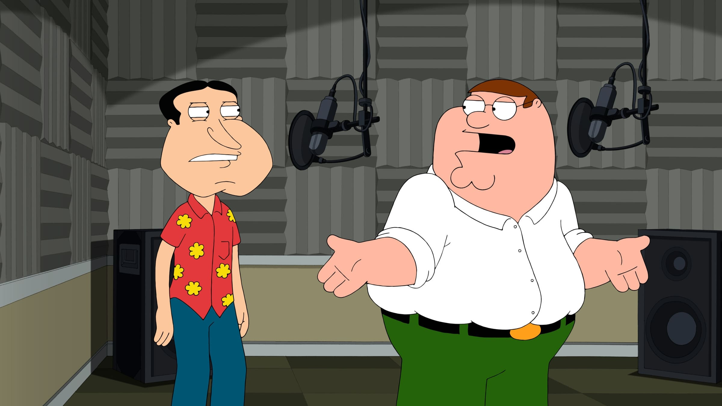 Family Guy Season 12 :Episode 7  Into Harmony's Way