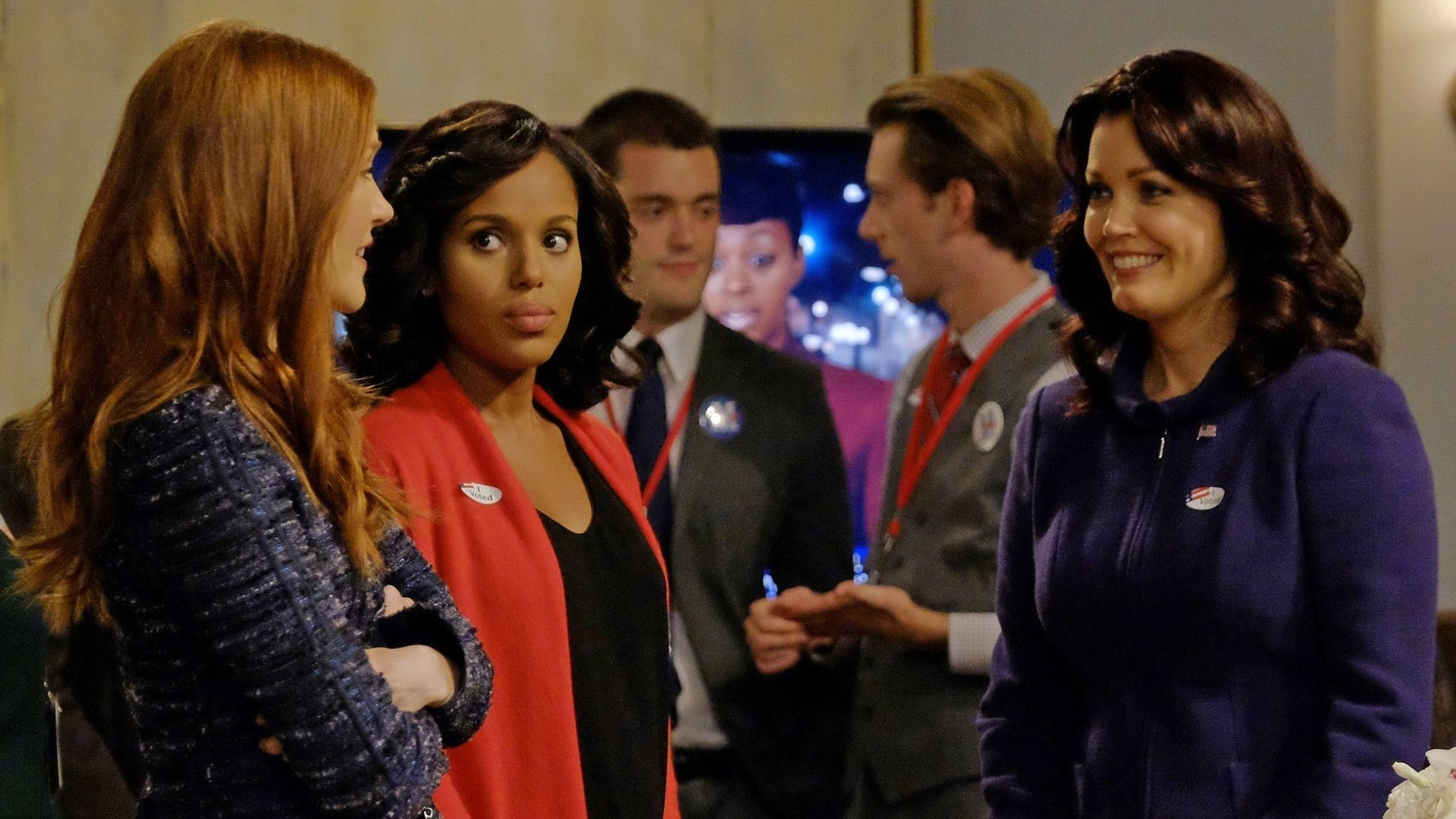 Scandal Season 6 :Episode 1  Survival of the Fittest