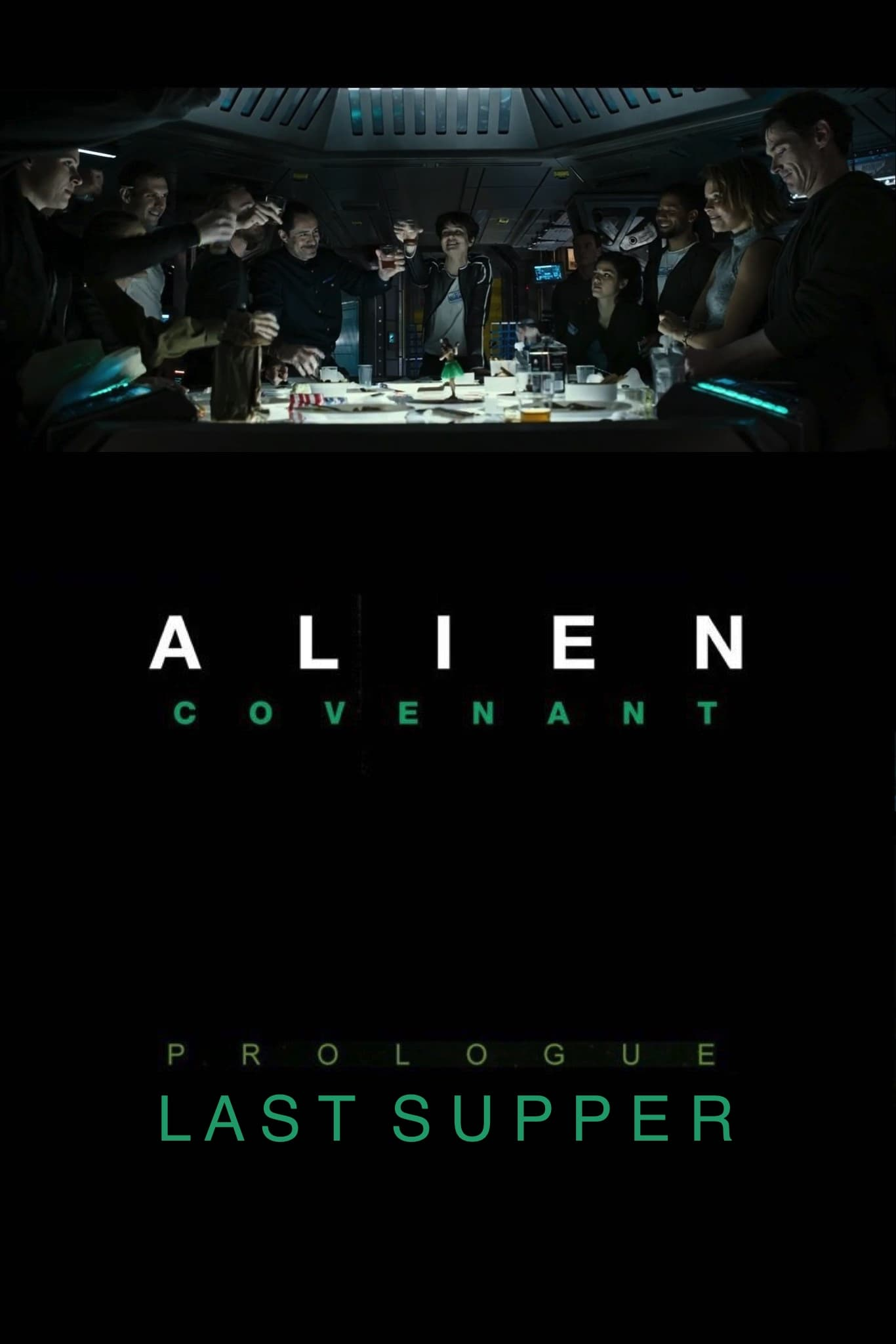 Alien: Covenant Prologue - Last Supper (2017)