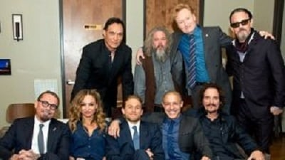 The Cast of 'Sons Of Anarchy' on Conan