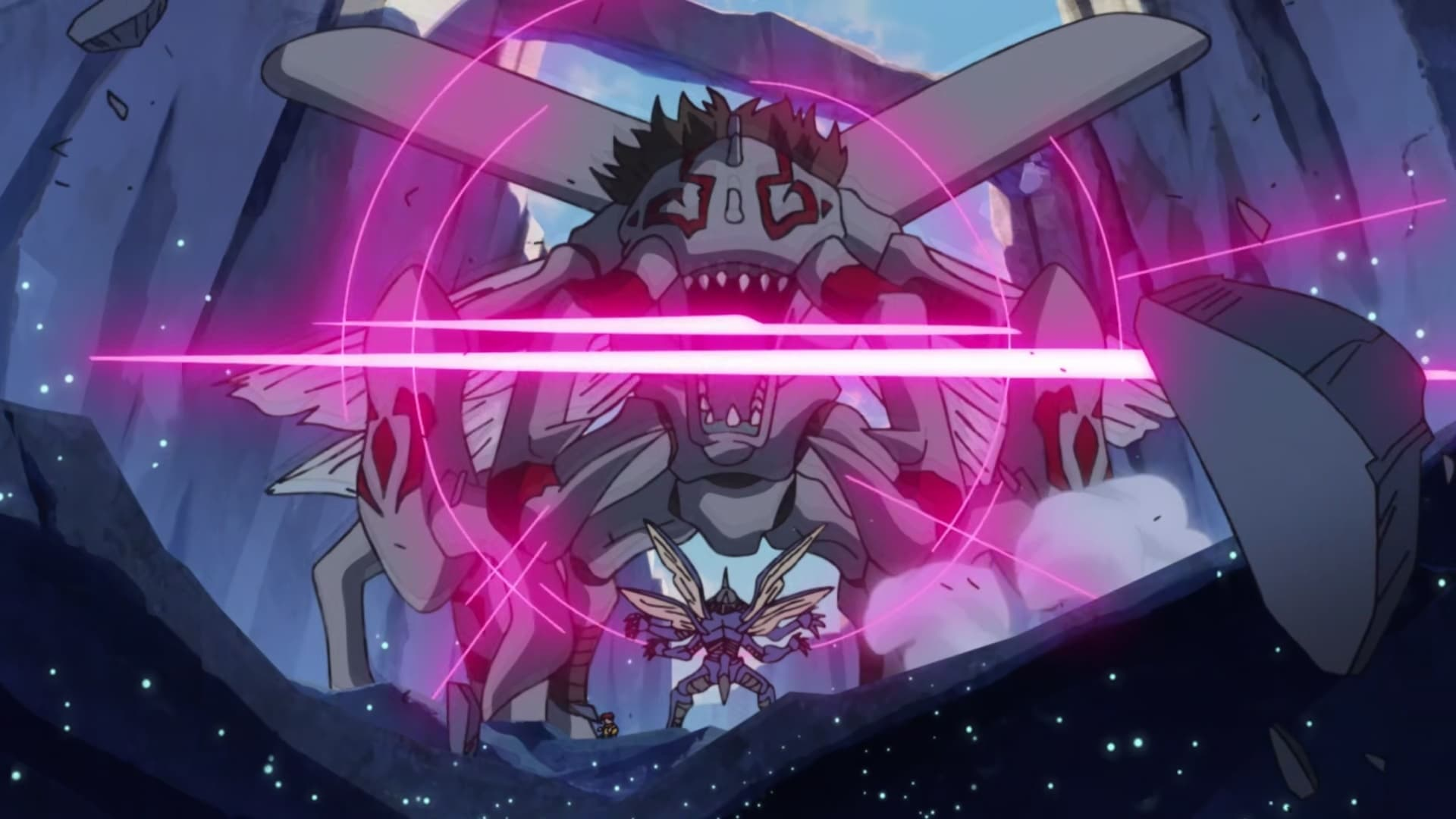 Digimon Adventure: Season 1 :Episode 14  Crash, The King of Insect