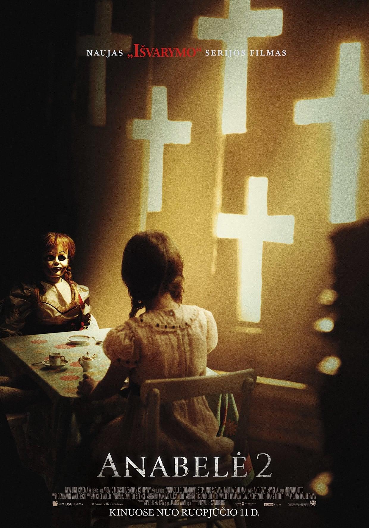 Anabelė 2 / Annabelle: Creation (2017) žiūrėti online