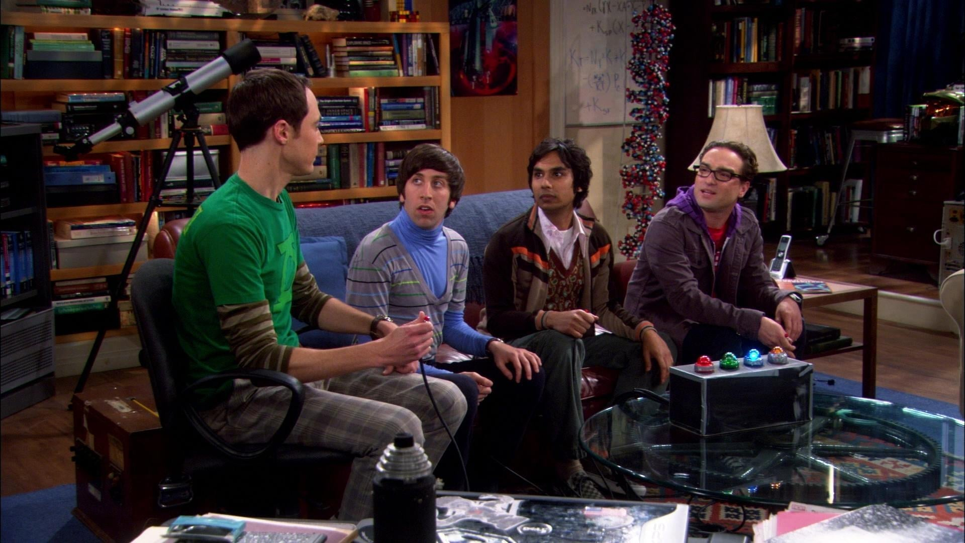 The Big Bang Theory Season 1 :Episode 13  The Bat Jar Conjecture