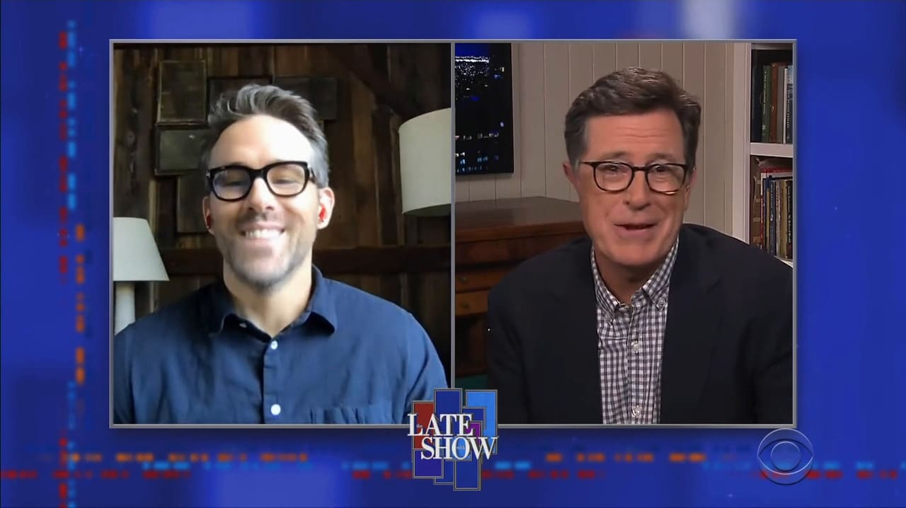 The Late Show with Stephen Colbert Season 5 :Episode 107  Ryan Reynolds