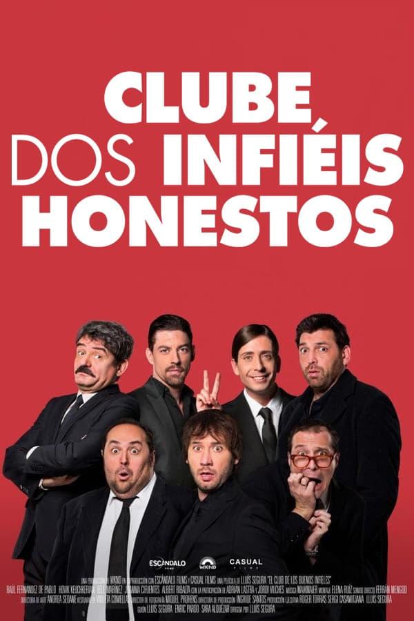 Clube dos Infiéis Honestos poster, capa, cartaz