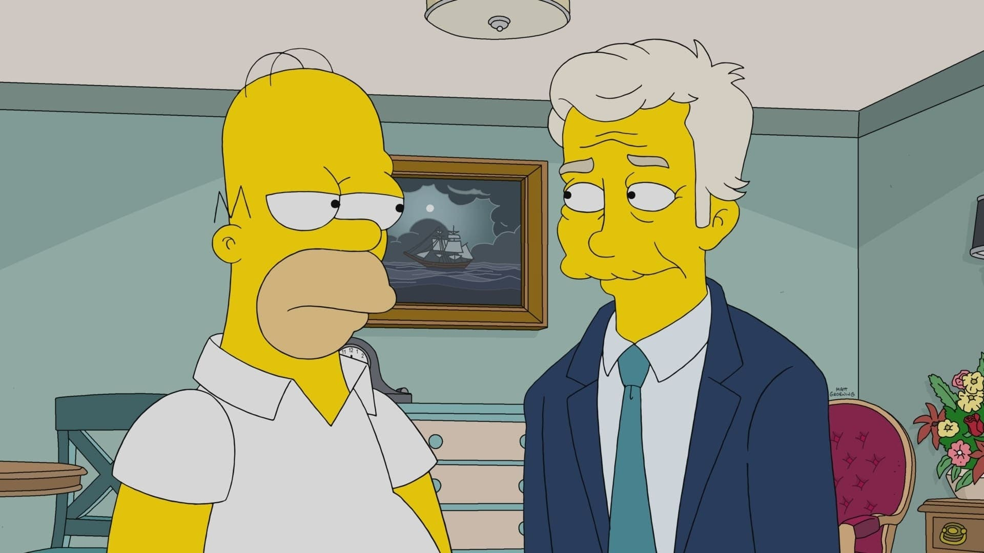 The Simpsons Season 32 :Episode 21  The Man From G.R.A.M.P.A.