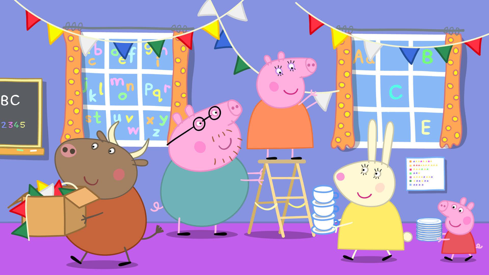 Peppa Pig Season 4 :Episode 26  Madame Gazelle's Leaving Party