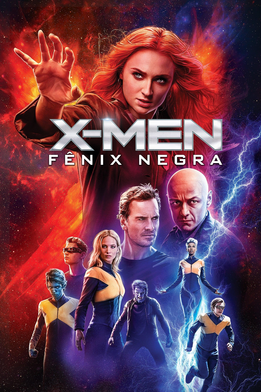 X-Men: Fênix Negra poster, capa, cartaz