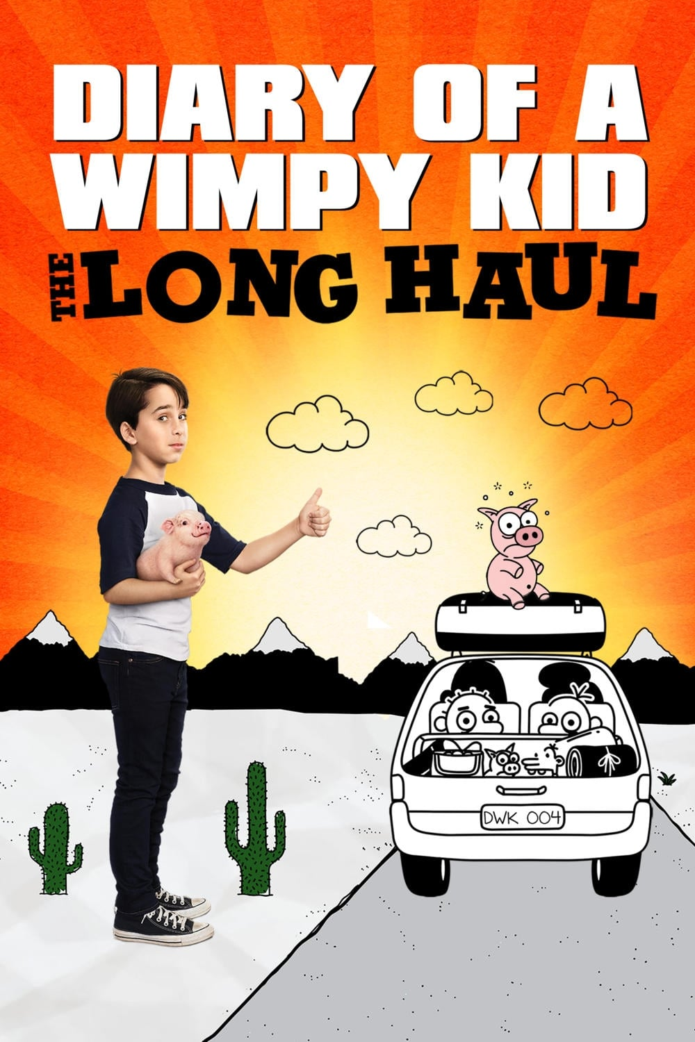 Diary Of A Fashion Mister Strictly Confidential: Diary Of A Wimpy Kid: The Long Haul (2017)