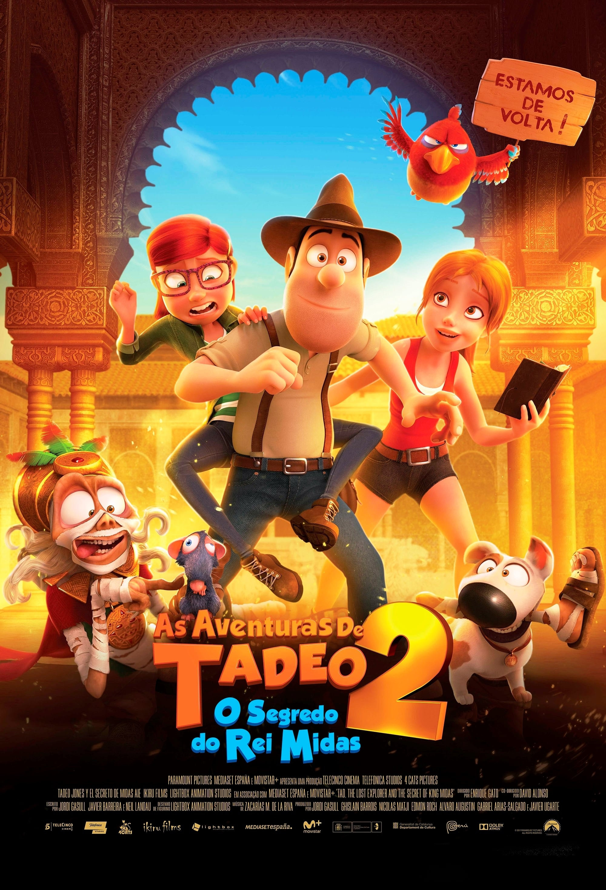 As Aventuras de Tadeo 2 O Segredo do Rei Midas Torrent (2018) BluRay 1080p Download Dual Áudio