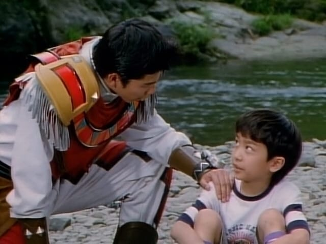 Super Sentai Season 22 :Episode 17  True Courage