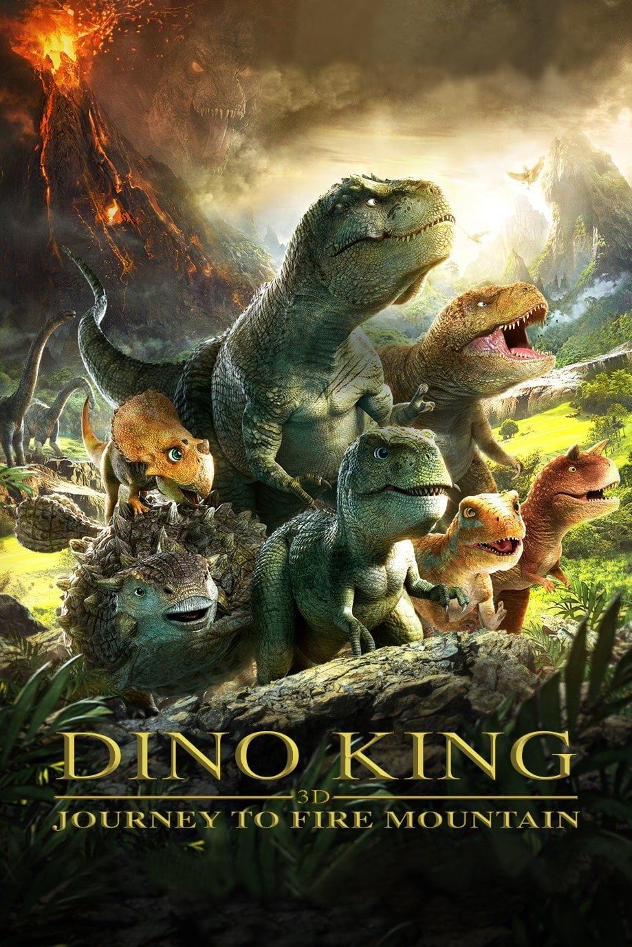Imagen Dino King: Journey to Fire Mountain