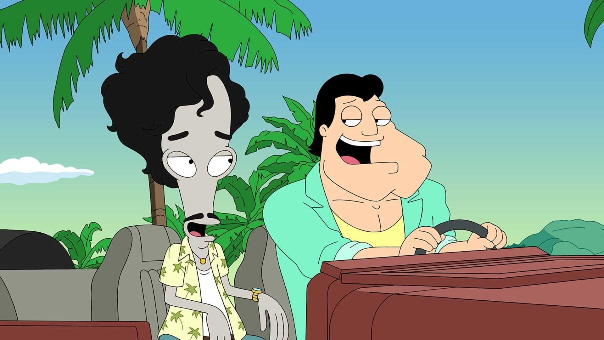 American Dad! Season 17 :Episode 1  100 Years a Solid Fool