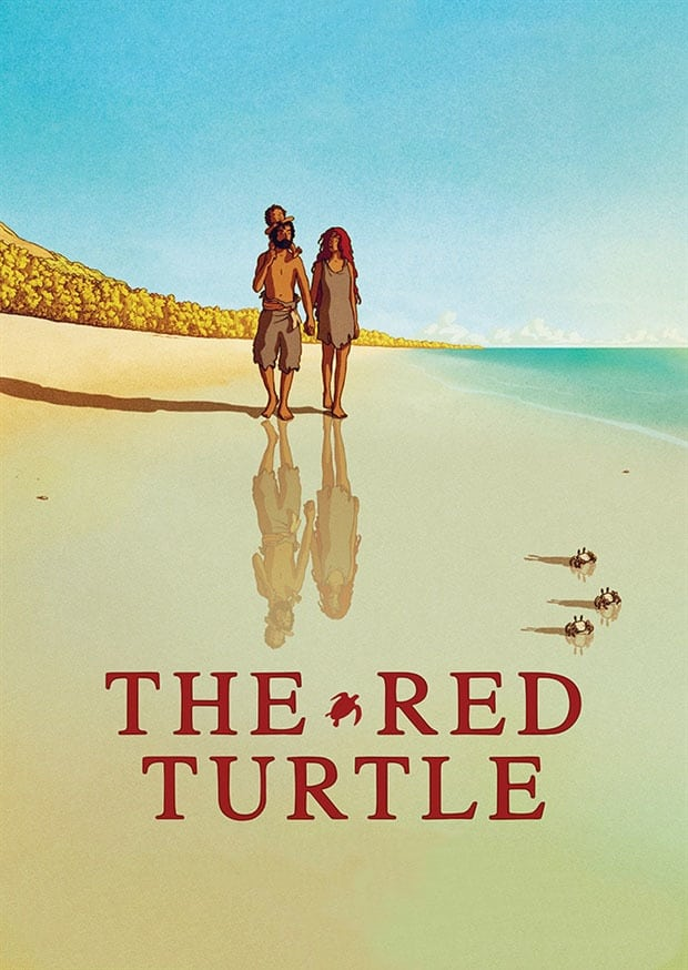 Póster La tortuga roja