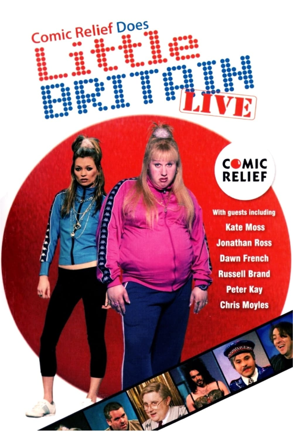 Ver Comic Relief Does Little Britain Live Online HD Español (2007)