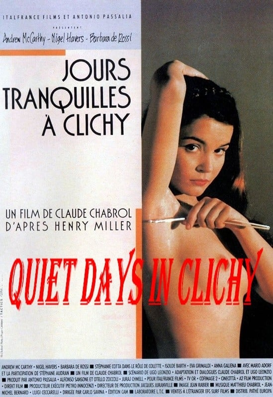 Quiet Days In Clichy / Jours Tranquilles A Clichy