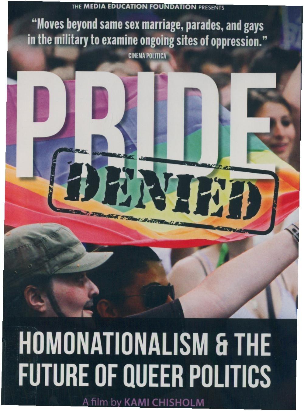 Ver Pride Denied: Homonationalism and the Future of Queer Politics Online HD Español (2016)