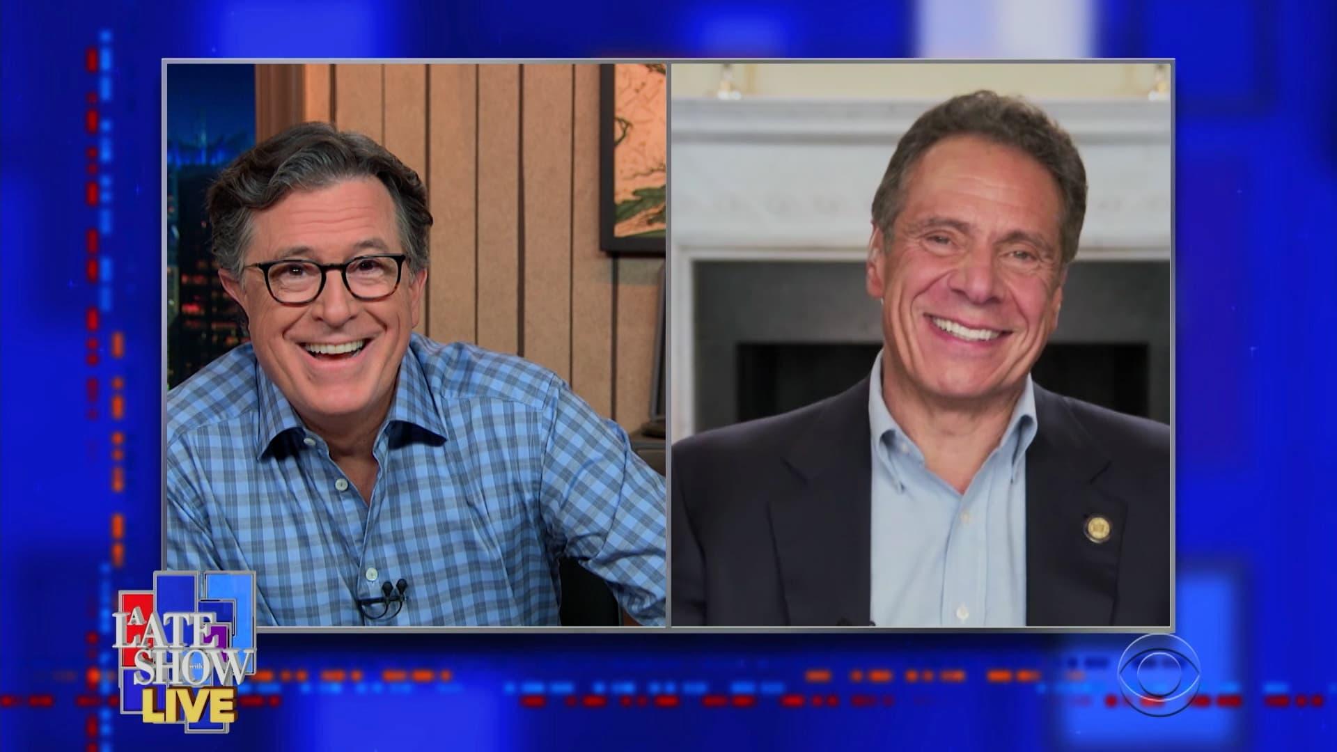 The Late Show with Stephen Colbert Season 6 :Episode 22  Andrew Cuomo, Matt Berninger