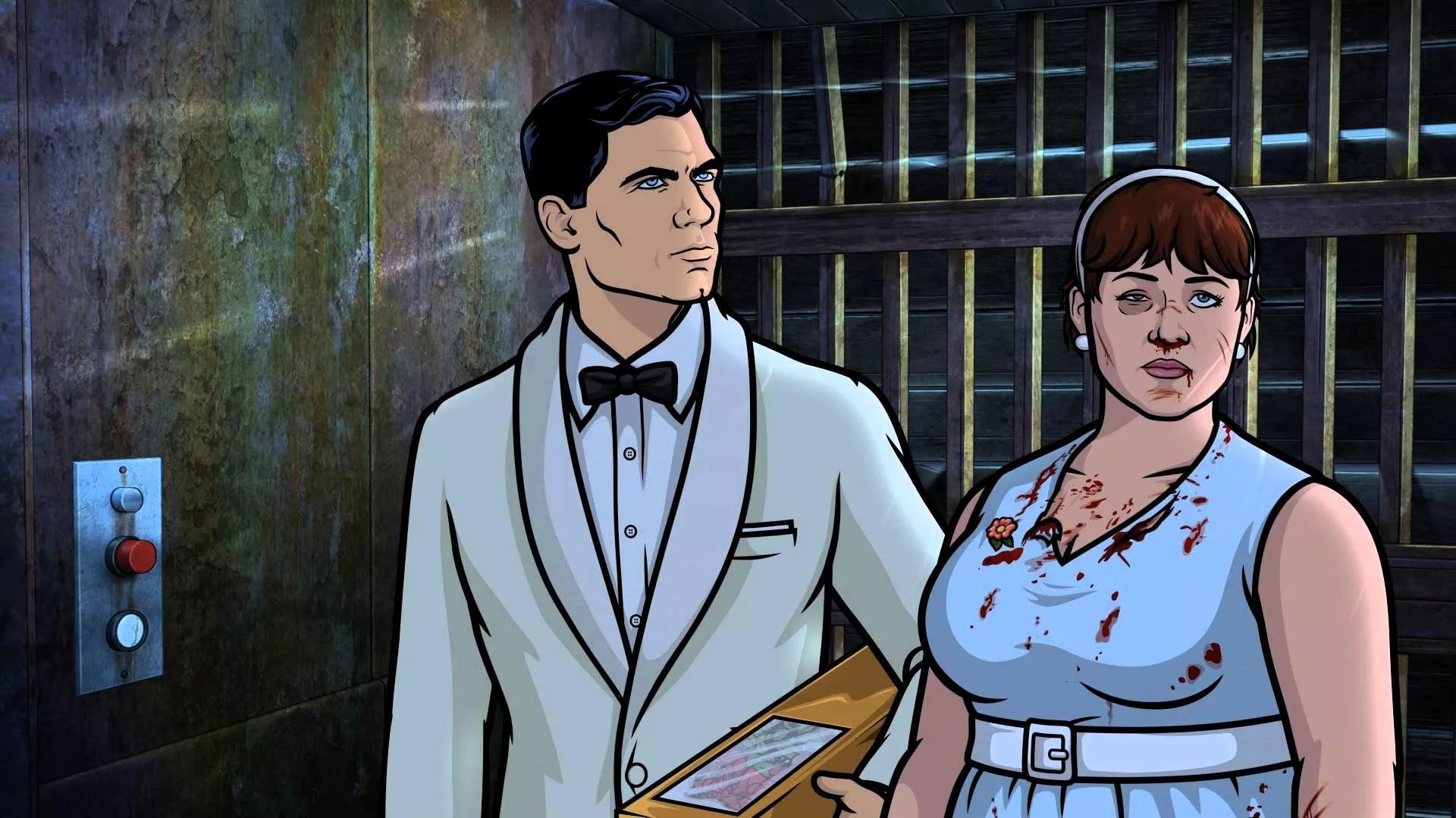 Archer Season 6 :Episode 4  Edie's Wedding