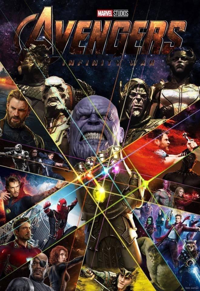 Vengadores: Infinity War (2018) HD 1080P LATINO/INGLES