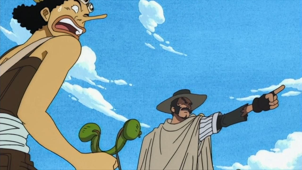 One Piece Season 1 :Episode 50  Usopp vs. Daddy the Parent! Showdown at High!
