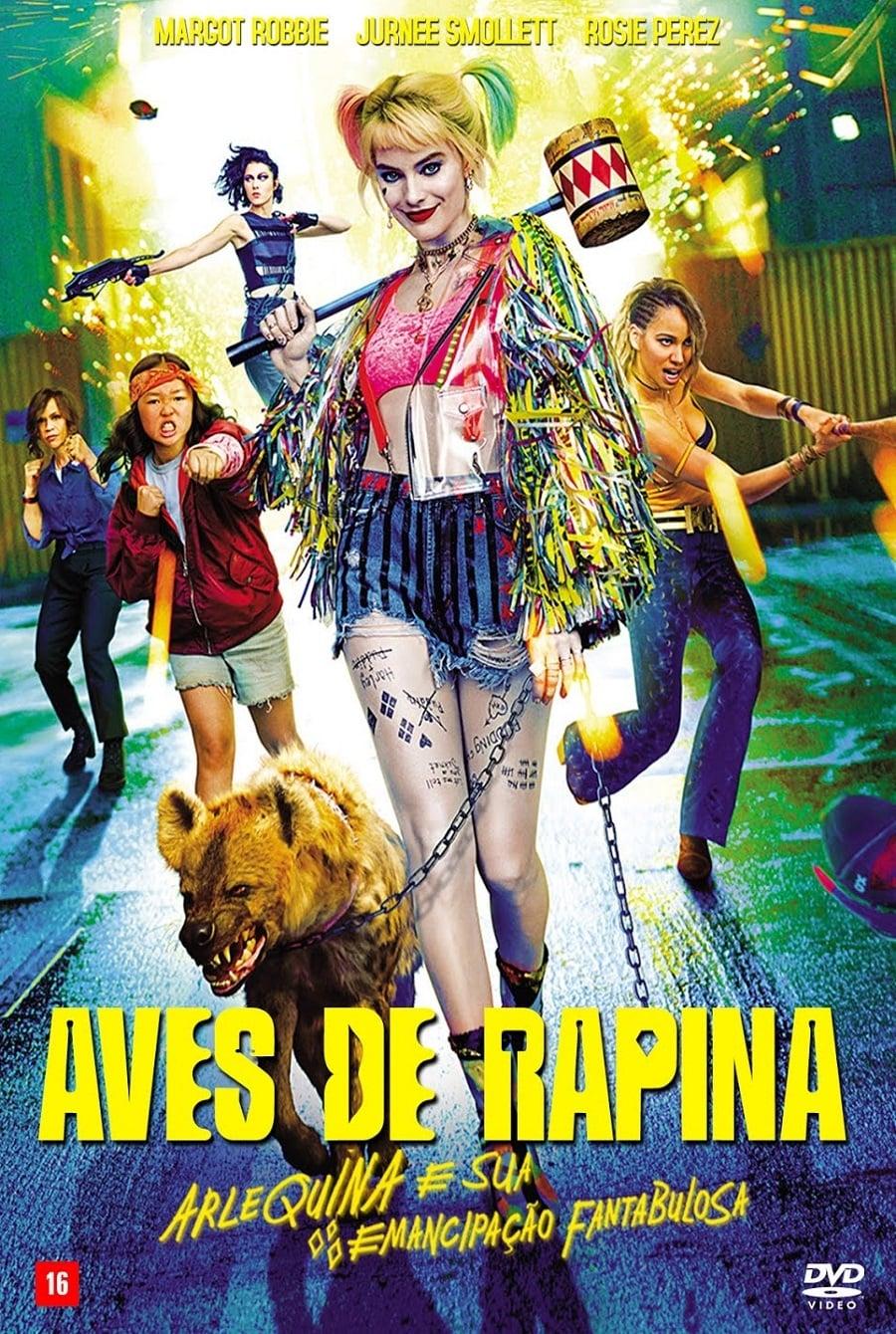 assistir filme aves de rapina: arlequina e sua emancipação fantabulosa