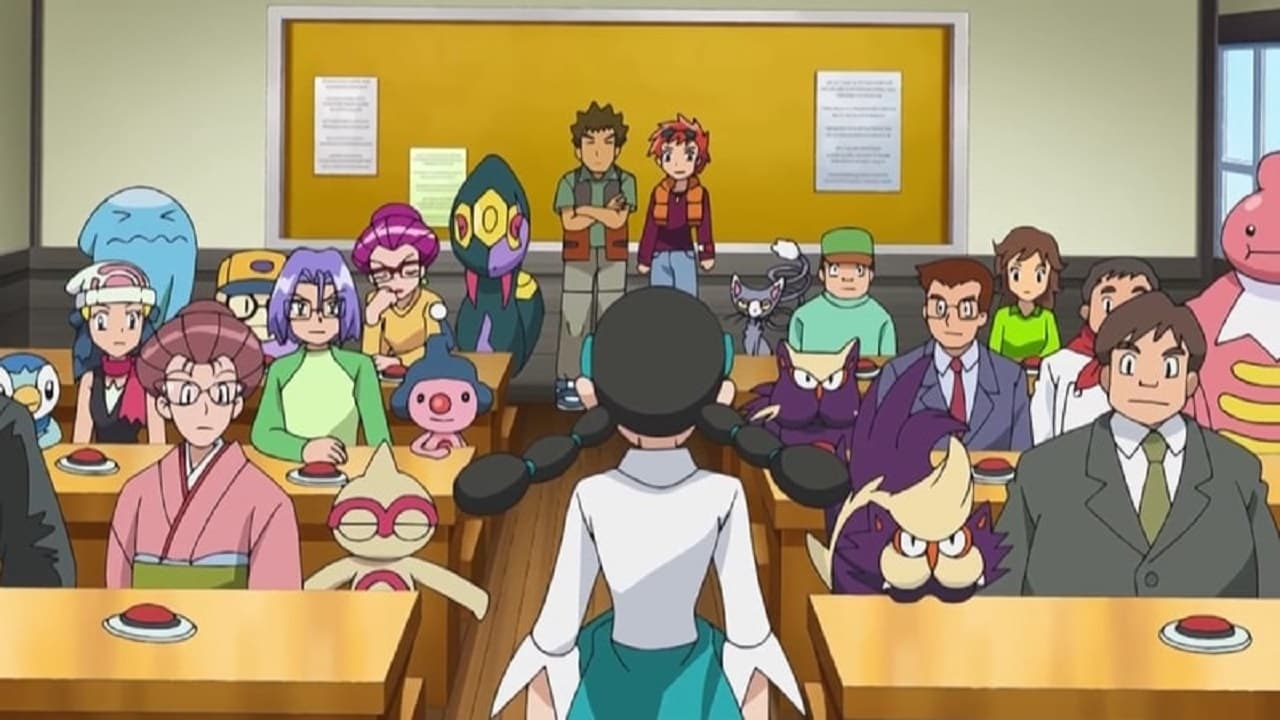 Pokémon Season 12 :Episode 22  Classroom Training!