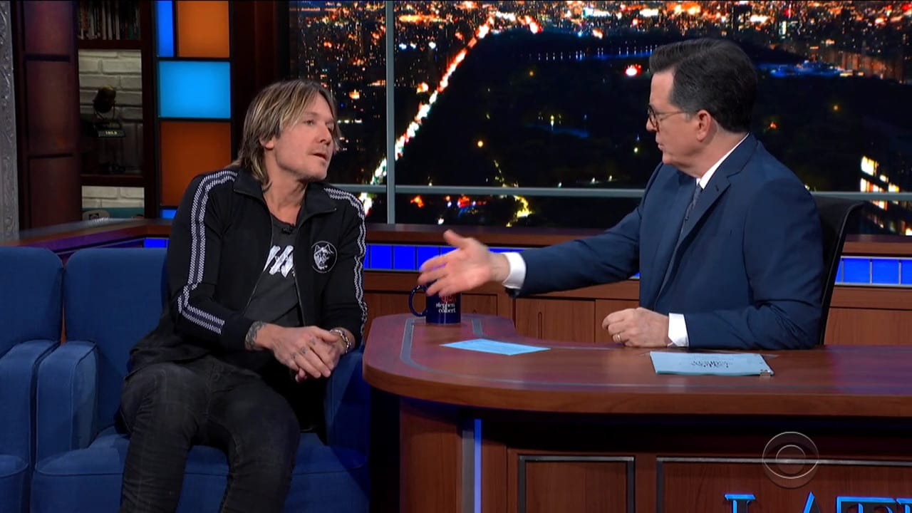 The Late Show with Stephen Colbert Season 5 :Episode 99  Keith Urban / Casey Wilson