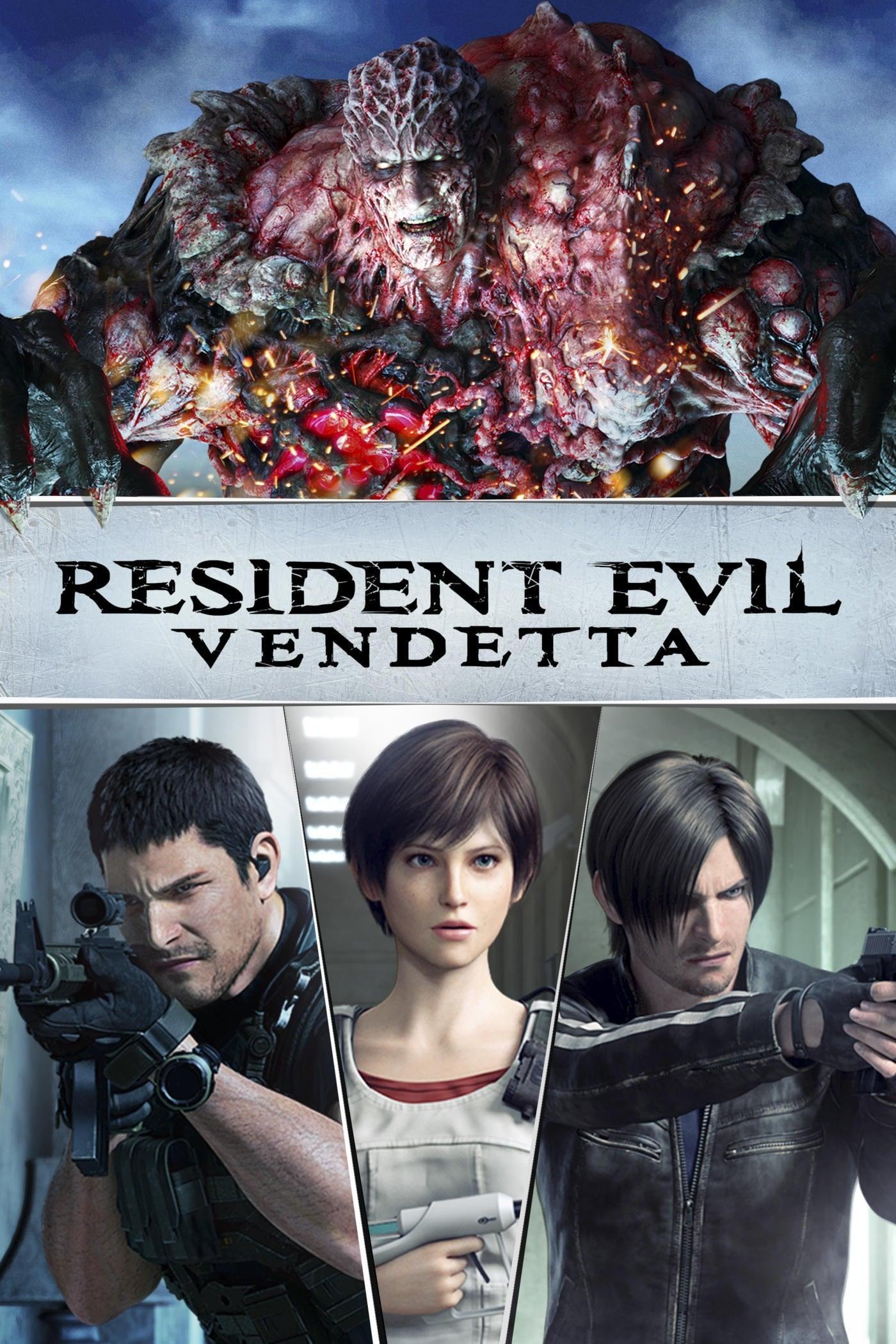 Resident Evil: Vendetta Dublado