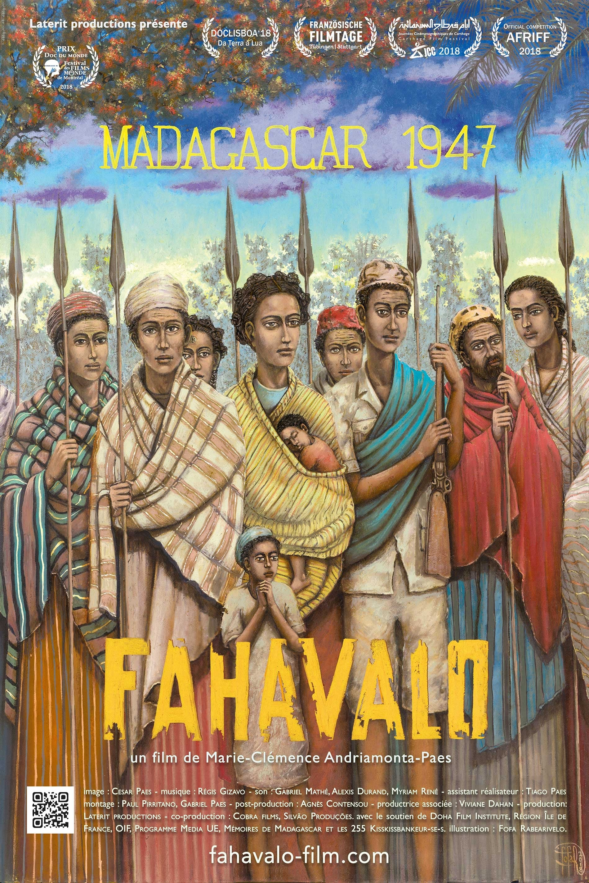 Fahavalo, Madagascar 1947 streaming sur zone telechargement