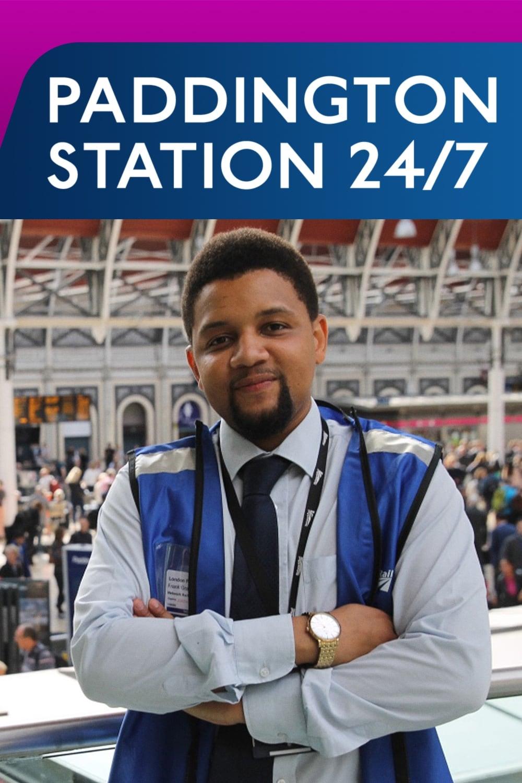 Paddington Station 24/7 Poster