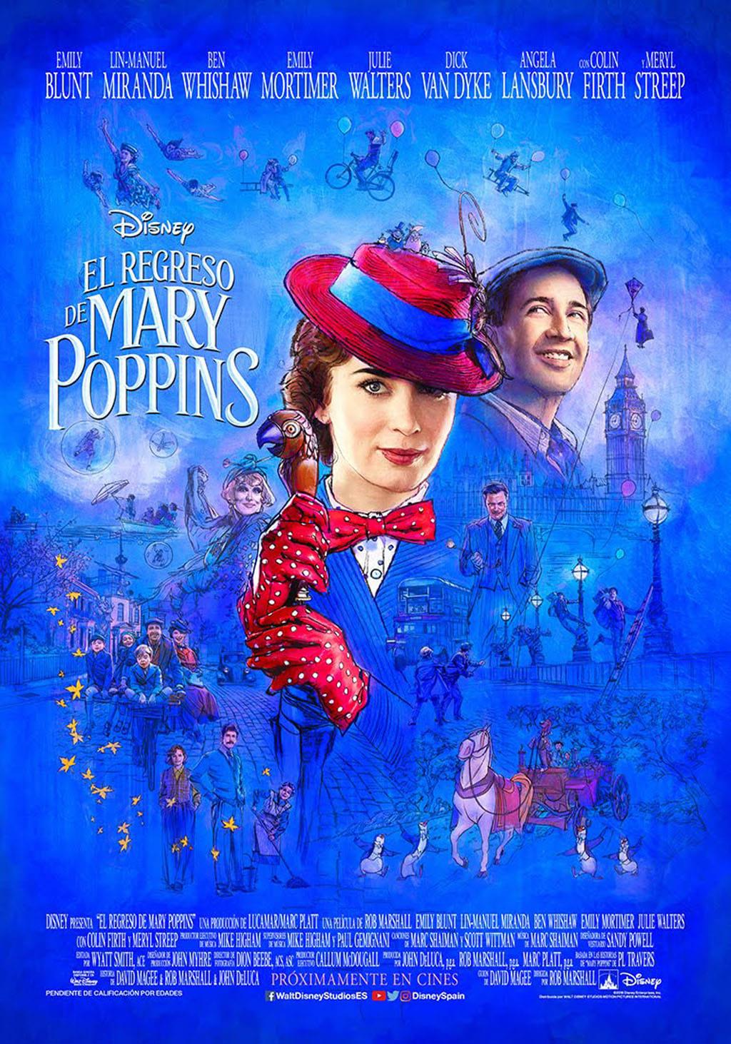 Póster El Regreso de Mary Poppins