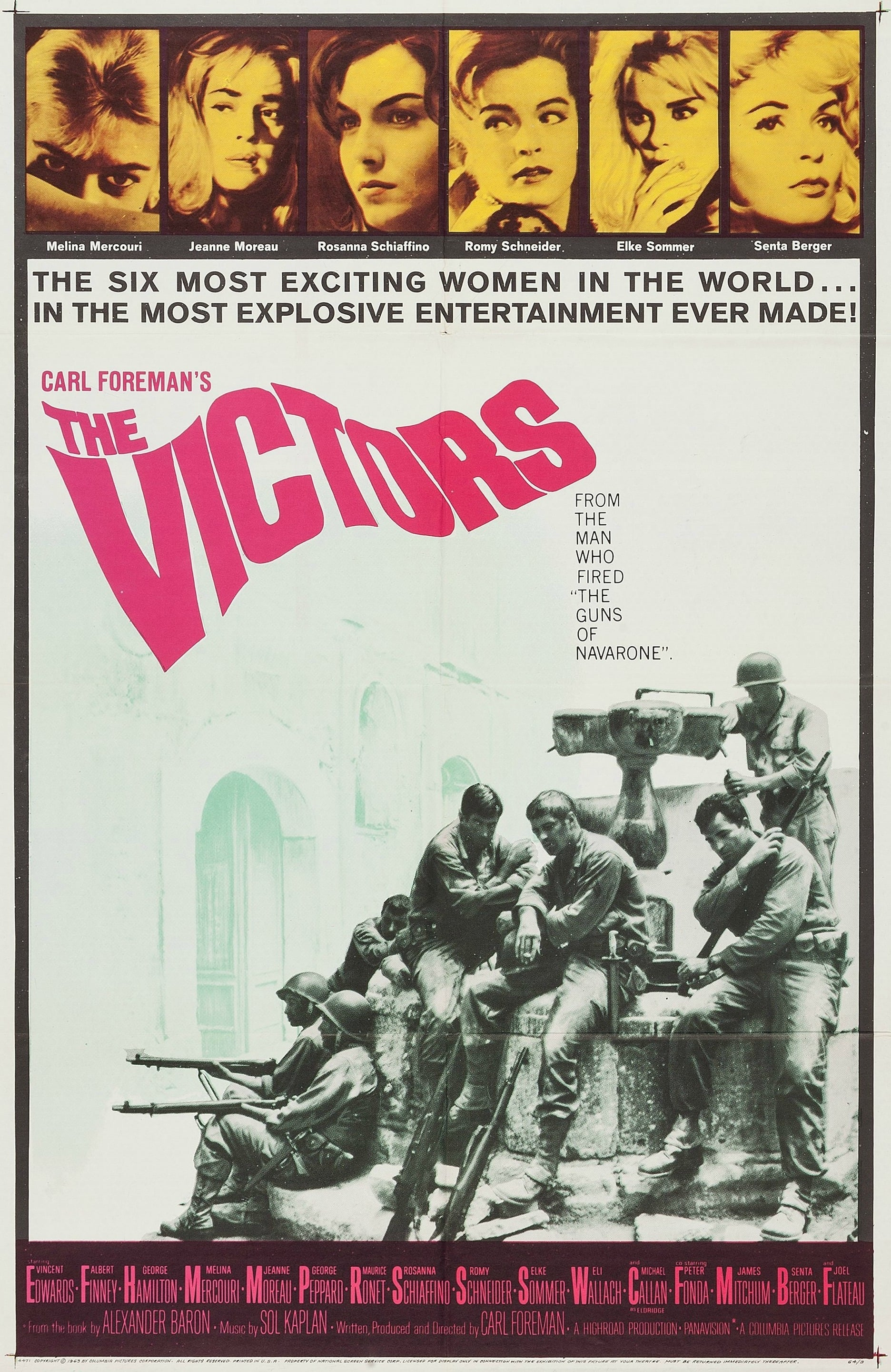 Ver The Victors Online HD Español (1963)